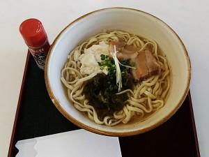 真栄田そば食べた!!